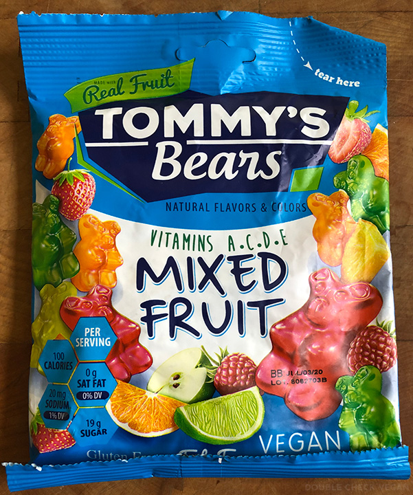 Tommy's Bears Vegan Gummy Bears