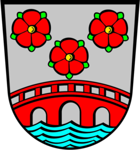 Simbach Am Inn Coat of Arms - Vegan Gummy Bears somewhere