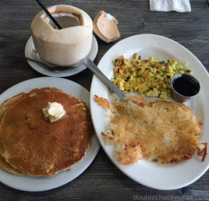 Best Vegan Food in Pasadena - Vegan breakfast at My Vegan