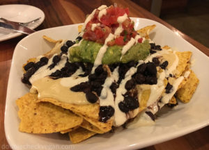 Vegan Nachos at Real Food Daily in Pasadena