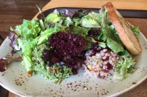 The Happy Vegan salad at Tender Greens in Pasadena