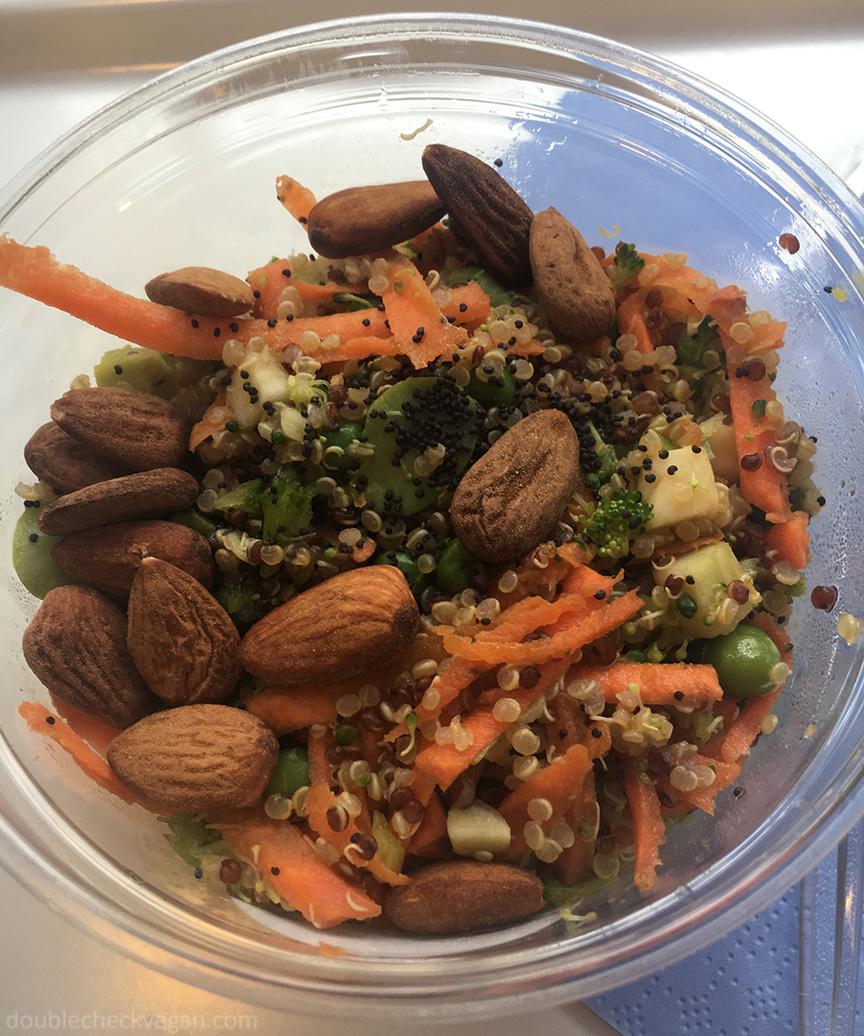 Vegan superfood bowl at Cojean in Paris.