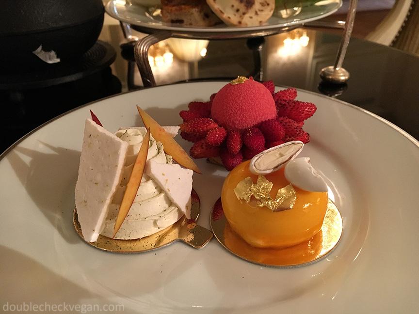 Vegan Afternoon Tea at the Shangri-La Hotel in Paris