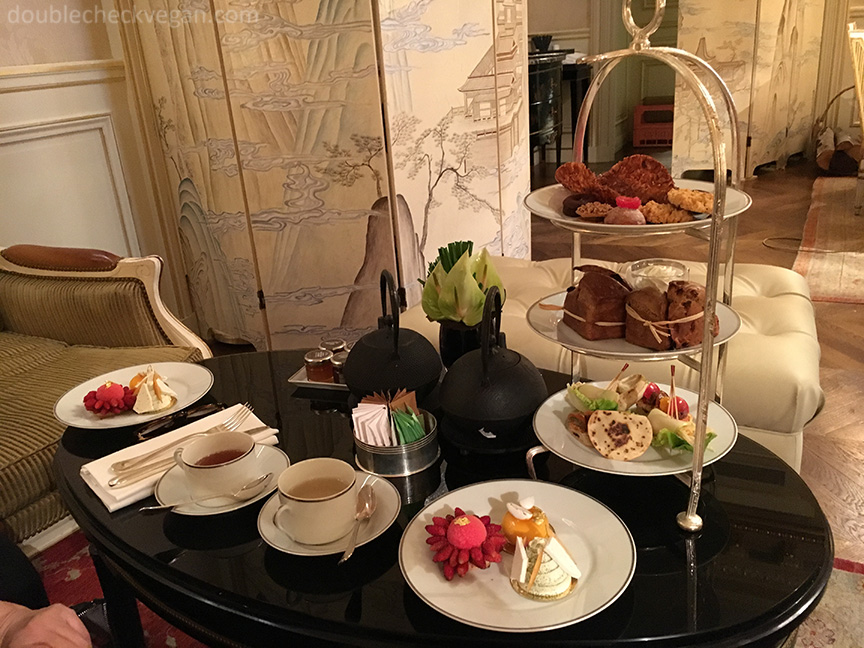 Vegan Afternoon Tea at the Shangri-La Hotel in Paris