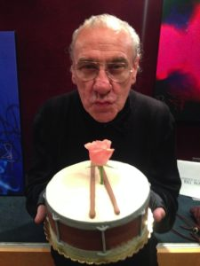 Bill Ward's vegan birthday cake, 2014. (Black Sabbath Vegan)