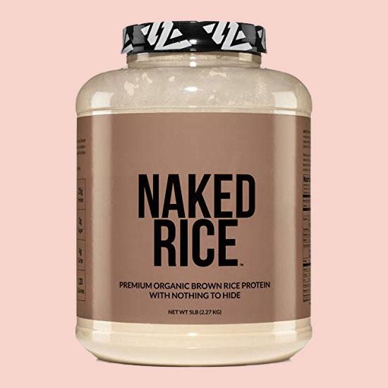 NKD Nutrition Naked Rice vegan protein powder