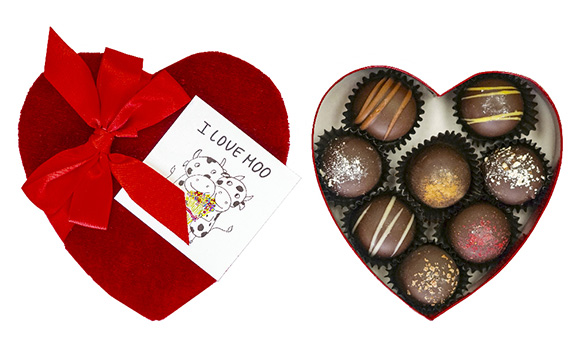 Farm Sanctuary Vegan Valentine's Day Chocolate