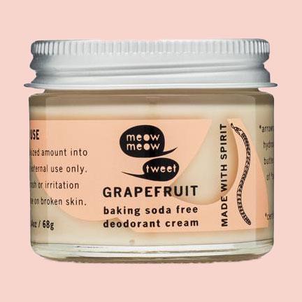 Meow Meow Tweet deodorant cream