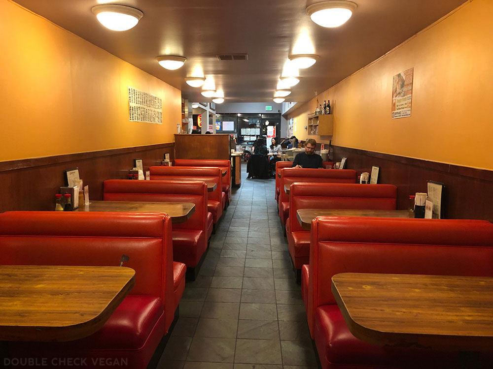 Old-school Los Angeles restaurants with vegan options - Kouraku