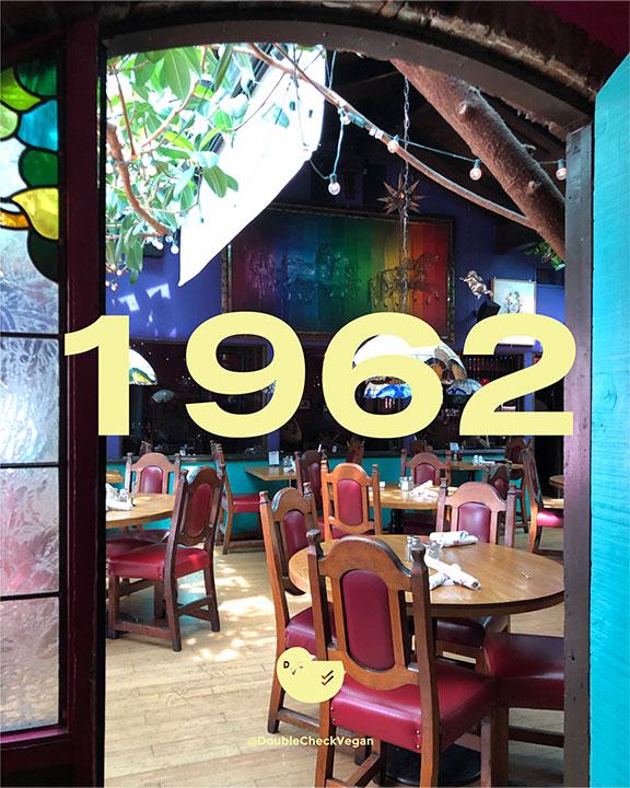 old-school Los Angeles restaurants - Casita Del Campo - 1962 - vegan options
