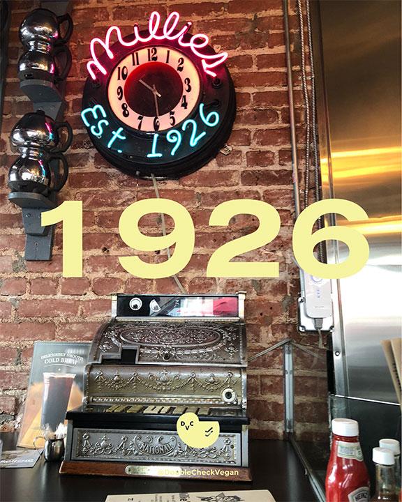 old-school Los Angeles restaurants - vegan options - Millie's Cafe