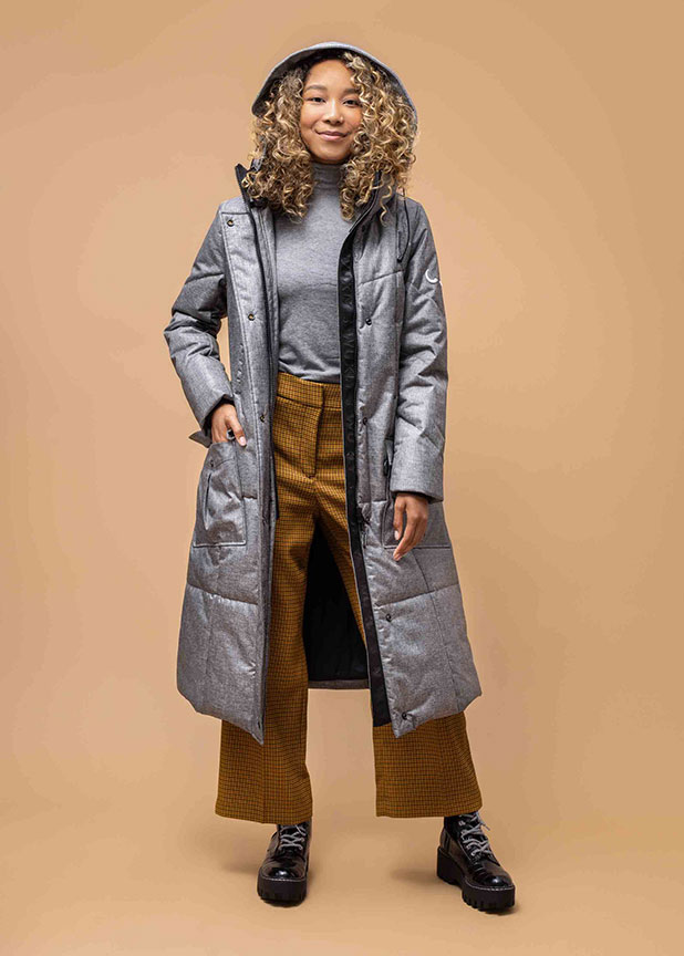 Vegan Winter Coats - Wuxly Queen Parka