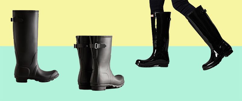 Hunter Adjustable Vegan Rain Boots