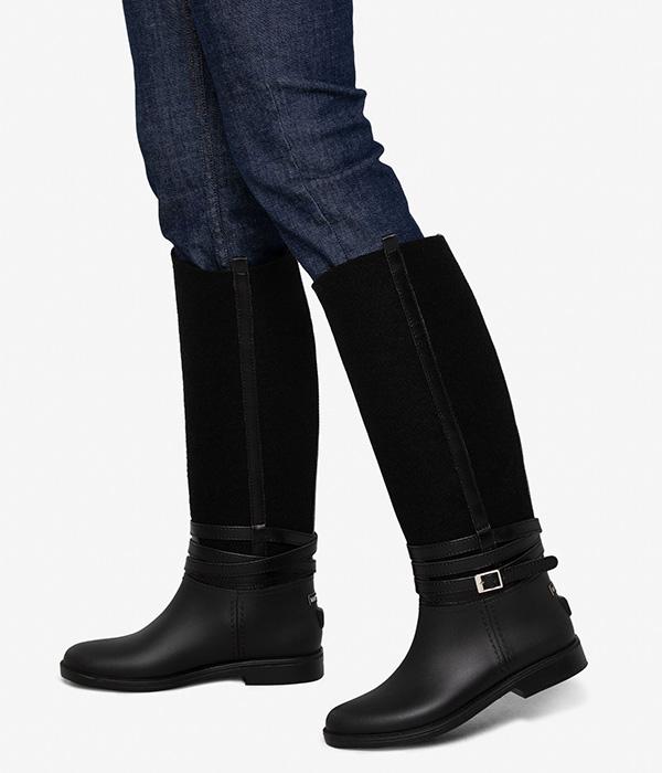 Matt & Nat Camila tall vegan rain boots