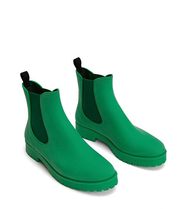Matt and Nat Laney vegan rain boot recycled PVC